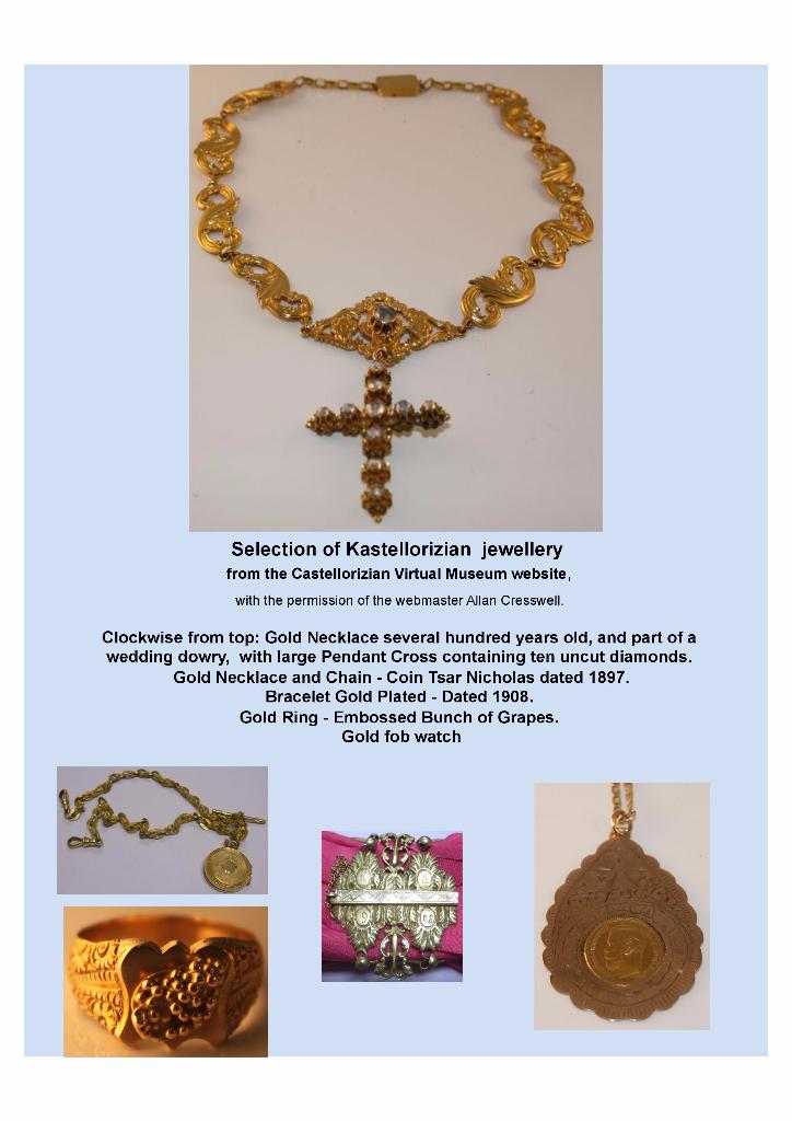 Kastellorizian Jewellery